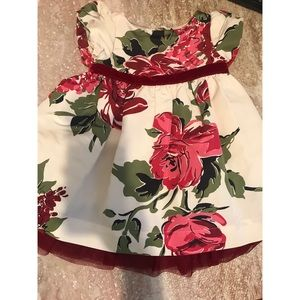 Baby Gap Floral Dress (12-18months) BNWOT